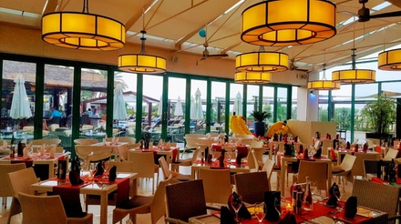 Lunch with Soft Drink for Up to Four at Oceana at 5* Hilton Dubai Jumeirah (Up to 61% Off*)