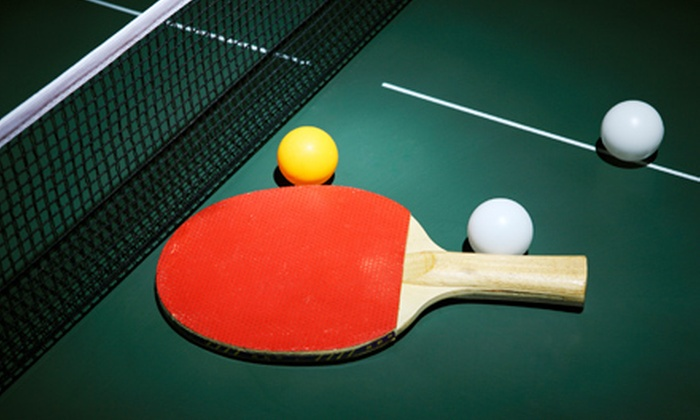 Chicago Slam Table Tennis Club - West Town: Open-Play Session, 60-Minute Table Rental, or 60-Minute Lesson at Chicago Slam Table Tennis Club (Up to 71% Off)