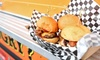 Slider House Burger Co - Totally Tortally: $12 for Gourmet Slider Meal for Two with Fries and Drinks at Slider House Burger Co ($20 Value)