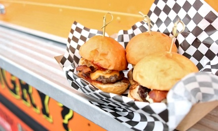 $12 for Gourmet Slider Meal for Two with Fries and Drinks at Slider House Burger Co ($20 Value)
