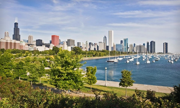 null - Chicago: Stay with Optional Dining Credit at 4-Star Mystery Hotel in Chicago's Grant Park; Dates into November Available