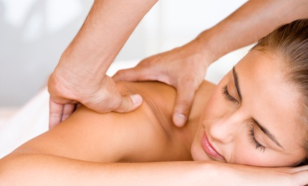 60-Minute Massage with Foot Scrub or Raindrop Detoxification at Laura's Therapeutic Massage (50% Off)