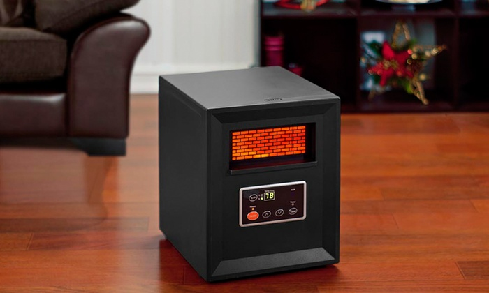Comfort Zone 1 000 Watt Infrared Heater Groupon
