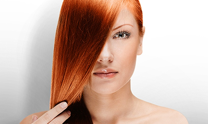 Sebastian Melgoza at Kallisto Salon & Spa - Kallisto Salon & Spa: Haircut Package or Three Keratin Treatments from Sebastian Melgoza at Kallisto Salon & Spa (Up to 57% Off)