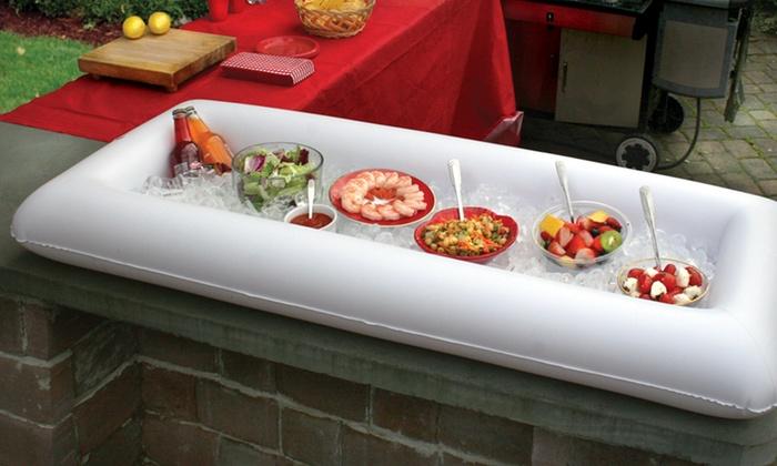 inflatable ice buffet groupon goods rh groupon com