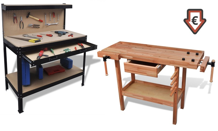 plan de travail avec tiroir groupon. Black Bedroom Furniture Sets. Home Design Ideas