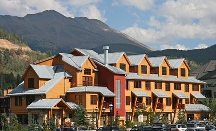 groupon daily deal - 2-Night Stay for Up to Six in a One- or Two-Bedroom Condo at Park Avenue Lofts in Breckenridge, CO