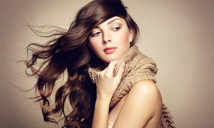 Beauty Club Salon - Bent Tree Oaks: Brazilian Blowout with Optional Haircut at Beauty Club Salon (Up to 60% Off)