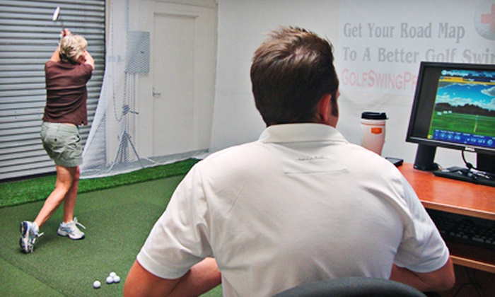 Golf Swing Prescription - South Laguna Hills: Golf-Swing Analysis with Optional One or Two Lessons at Golf Swing Prescription (Up to 66% Off)