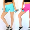 """3-Pack of Seamless Spandex 12"""" Workout Shorts"""