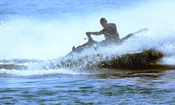 Dunedin WaterSports - Pirate's Cove Marina & Yacht Club: 30-Minute, One-Hour, Four-Hour, or Seven-Hour Waverunner Rental at Dunedin WaterSports (Up to 51% Off)