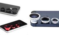 Set de 3 lentes intercambiables para smartphones
