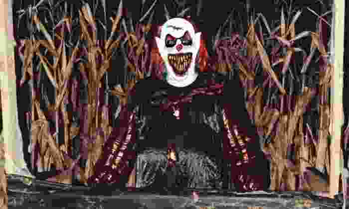 Deadly C.O.R.N. Haunted Maze - Higginsville: $10 for Admission for Two to Haunted Corn Maze at Deadly C.O.R.N. ($20 Value)