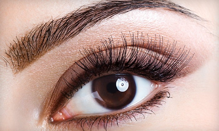 Lashes, Brows & Lips - Allen: Lash Extensions with Option for Brow Shaping or Brow Shaping and Lash Refill at Lashes, Brows & Lips (Up to 73% Off)