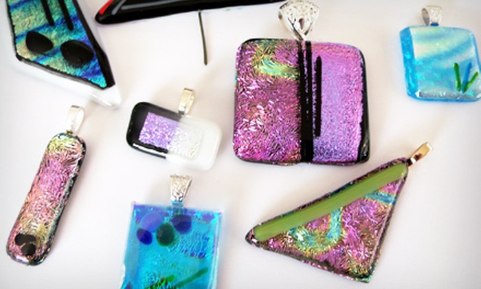 Zyndorf Glass & Arts - Reynolds Corners: Regular or Dichroic Glass-Fusing Class or Parent and Child Glass-Fusing Class at Zyndorf Glass & Arts (Up to 65% Off)