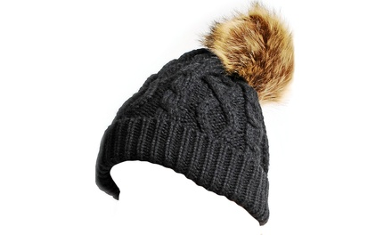 $19 for Pompom Hat at Touch of Gem ($49.99 Value)