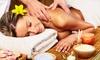 Massaggi a scelta e scrub corpo