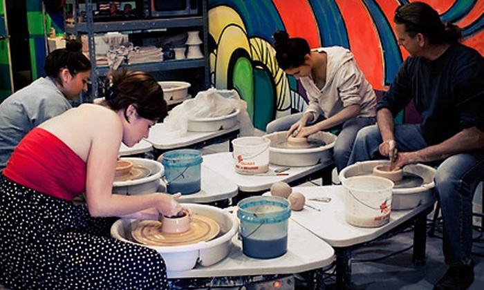 Clay - Downtown Long Beach: Wheel-Thrown Ceramics Class for One or Five at Clay in Long Beach (Up to 54% Off)