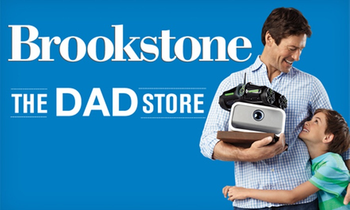 Brookstone: $25 for $50 Worth of Unique Father's Day Gifts and Other Innovative Products from Brookstone. Valid Online and In-Store.