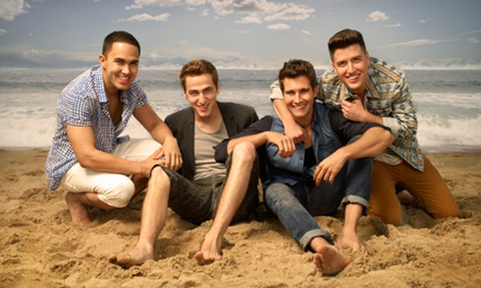 Summer Break Tour: Big Time Rush - St. Augustine: $28 to See Big Time Rush at St. Augustine Amphitheatre on Saturday, July 6 at 7 p.m. (Up to $52.80 Value)