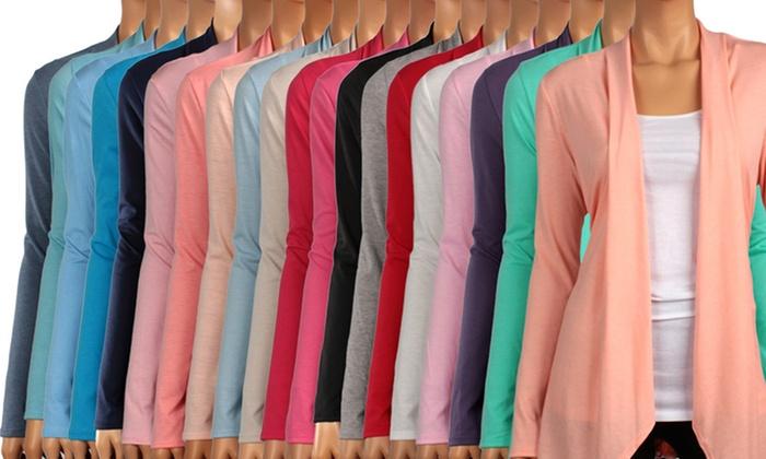 Women's Springtime Draped Cardigans: Women's Springtime Draped Cardigans. Multiple Colors Available. Free Returns.