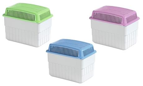 Deumidificatore ecologico per 50 m² disponibile in 3 colori