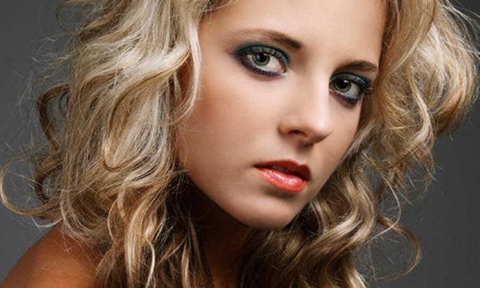 Bella Nail & Hair Salon - Livermore: Haircut and Blow-Dry with Optional Highlights, or CHI Keratin Treatment at Bella Nail & Hair Salon (Up to 58% Off)