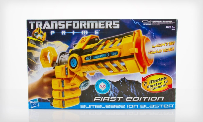 Hasbro Transformers Toys: Hasbro Transformers Nitro Bumblebee, Cyberverse Action Set, or Prime Bumblebee Blaster (Up to 60% Off)