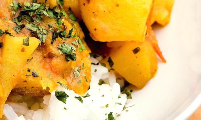 null - Santa Clara: Indian Food at Radhe Chaat (45% Off). Two Options Available.