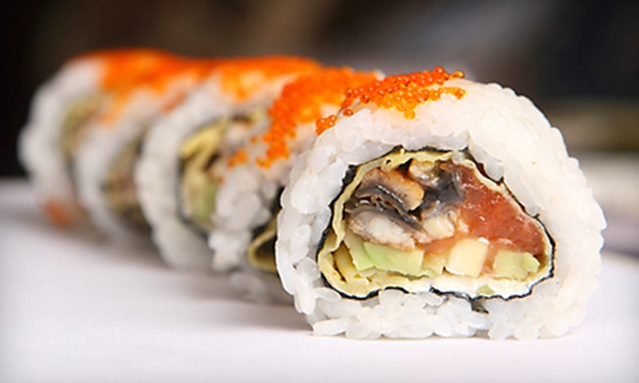 Samurai Sushi - Northeast Anchorage: Japanese Food for Dinner for Two or Four at Samurai Sushi (Half Off)
