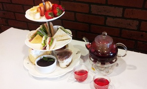 Snowflake Cafe and Bakery: Two-Tiered Afternoon Tea or Chocolate Fondue for Four, or Both at Snowflake Cafe and Bakery (Up to 44% Off)