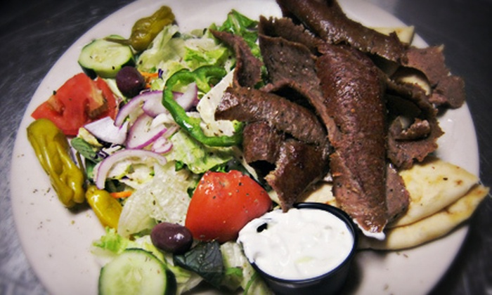 Zorba's Greek Taverna - Kirkman South: $12 for $24 Worth of Greek Dinner Food at Zorba's Greek Taverna