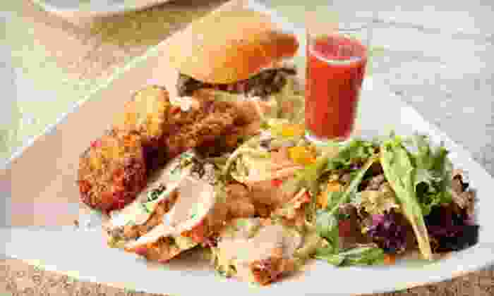 Sweet Potato Cafe - Stone Mountain: Locally Sourced Southern Food at Sweet Potato Cafe (Up to 60% Off). Five Options Available.