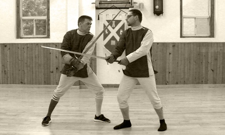 One Introduction To and Four Swordplay Classes for One or Two at Ottawa Classical Swordplay (Up to 56% Off)