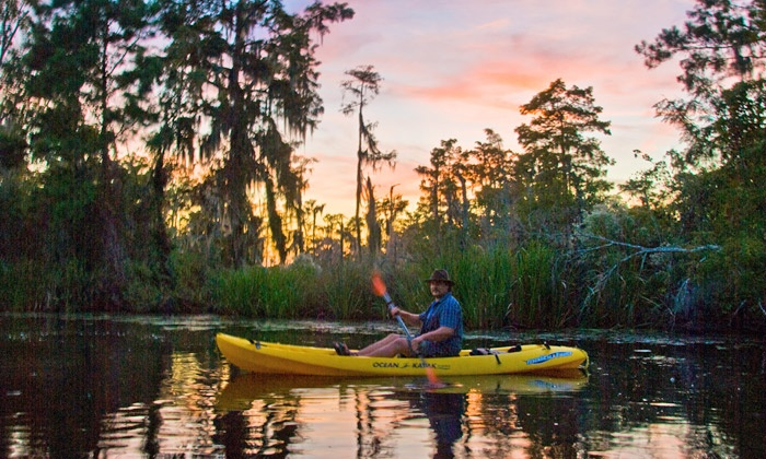 Gravity Trails - French Quarter: Two-Hour Swamp Tour by Kayak for Two or Four from Gravity Trails (50% Off)
