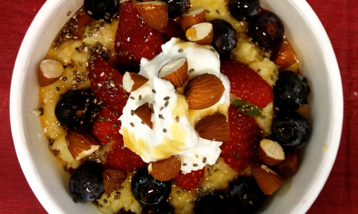 Brooklyn Porridge Co. - Park Slope: One or Two Groupons, Each Good for Two Porridges and Two Drinks at Brooklyn Porridge Co. (Up to 50% Off)
