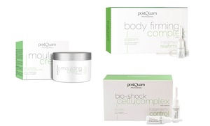 Pack adelgazante Postquam: crema moldeadora y ampollas anticelulíticas y reafirmantes por 39,90 € a recoger en 9 tiendas
