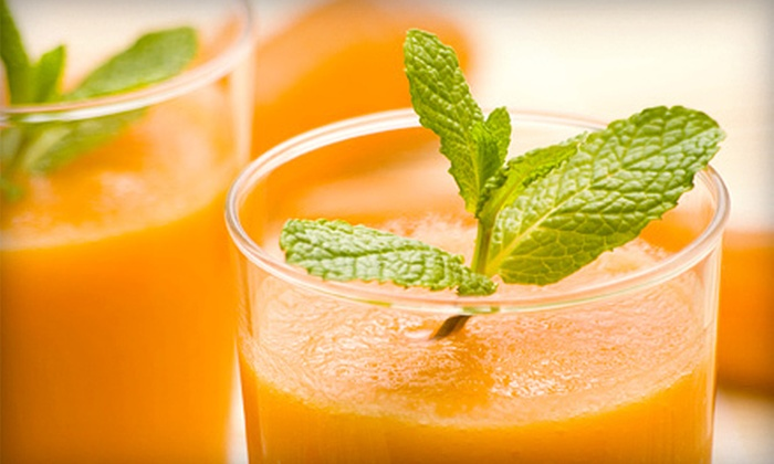 Drinkbar. Juicery - Fullerton: Three- or Five-Day Juice Cleanse from Drinkbar. Juicery (Up to 52% Off)