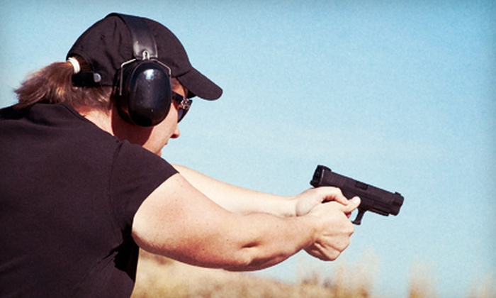 Best Handgun Training - Lincoln: $89 for a Six- to Eight-Hour Basic Pistol Course or Women's Only Course from Best Handgun Training in Lincoln ($200 Value)
