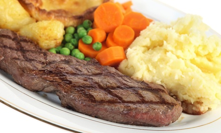 Steak and Pasta at FireWater Restaurant & Bar (Up to 40% Off). Two Options Available.