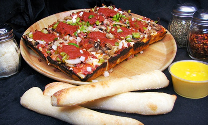 Noble Romans Pizza - Chapel Hill - Ben Davis: $10 for $20 Worth of Pizza, Breadsticks, and Salad Bar at Noble Romans Pizza