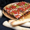 $10 for Pizza, Breadsticks, and Salad Bar at Noble Romans Pizza