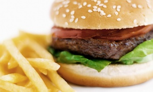 Plovers Drive Thru: $11 for Two Groupons, Each Good for $10 Worth of Burgers, Fries, and Shakes at Plovers Drive Thru ($20 Value)