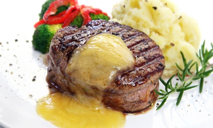 American Dinner and Drinks for Two or Four at Jazz 727 (Up to 44% Off)