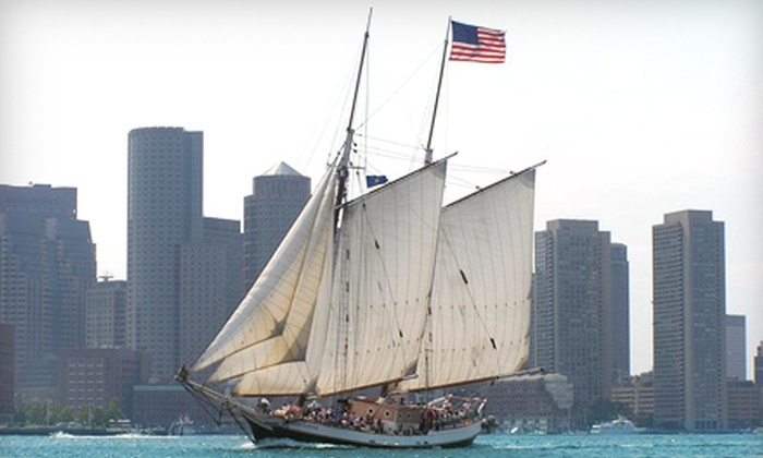 Liberty Fleet of Tall Ships - North End: $16 for a Boston Harbor Tall Ships Sail from Liberty Fleet of Tall Ships ($31.50 Value)
