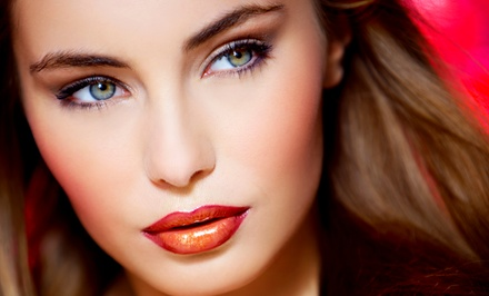 Facial, Full Set of Eyelash Extensions, or Full-Face Threading at Ess Aar Beauty Salon (Up to 57% Off)