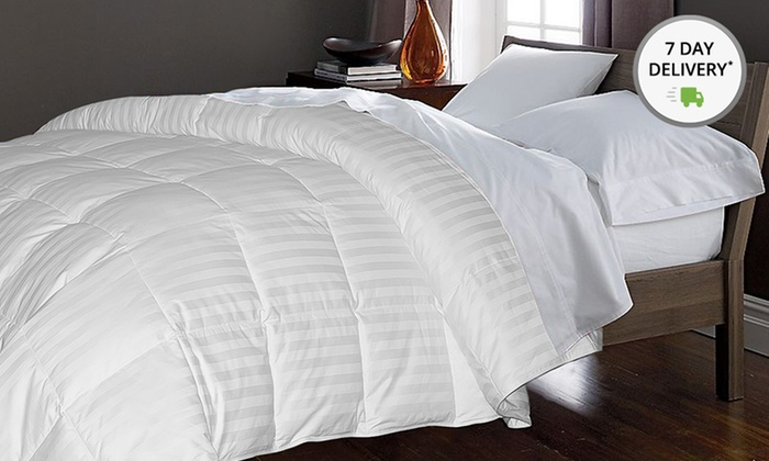 Hotel Grand 500TC White Damask Down Comforter: Hotel Grand 500TC White Damask Down Comforter. Multiple Sizes Available from $129.99–$189.99. Free Shipping and Returns.