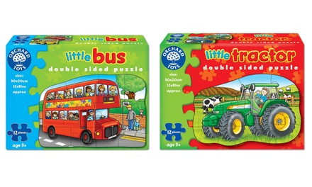 Orchard Toys Little Tractor and Little Bus Puzzles TwoPack for £9.50
