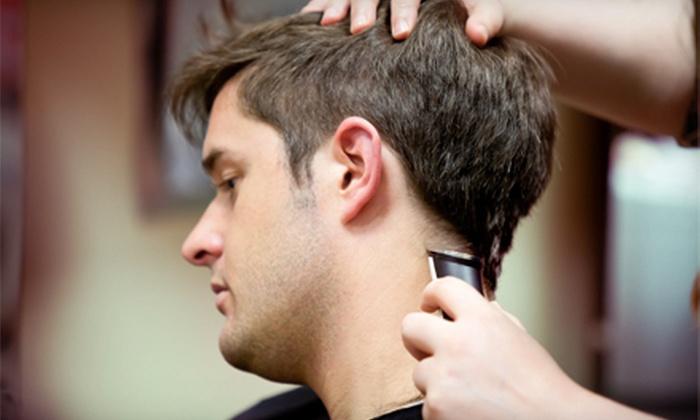 Dublin's Cut & Shave - Dublin: Men's Facial or Head Shave, Haircut and Shave, or Three Haircuts at Dublin's Cut & Shave (Half Off)
