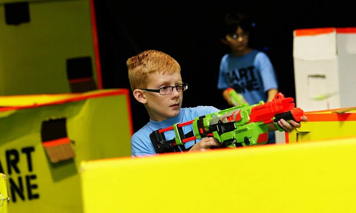 Dart Zone - Southeast Meridian: Nerf Tag for Two or Four or a Party at Dart Zone (50% Off)